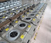 Fan filter unit FFU efficient air purifier filter one hundred laminar flow