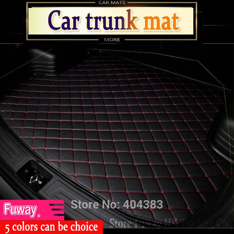 hot fit car trunk mat for Jeep Grand Cherokee Wrangler Commander Compass Patriot 3D car styling heavyduty carpet cargo liner