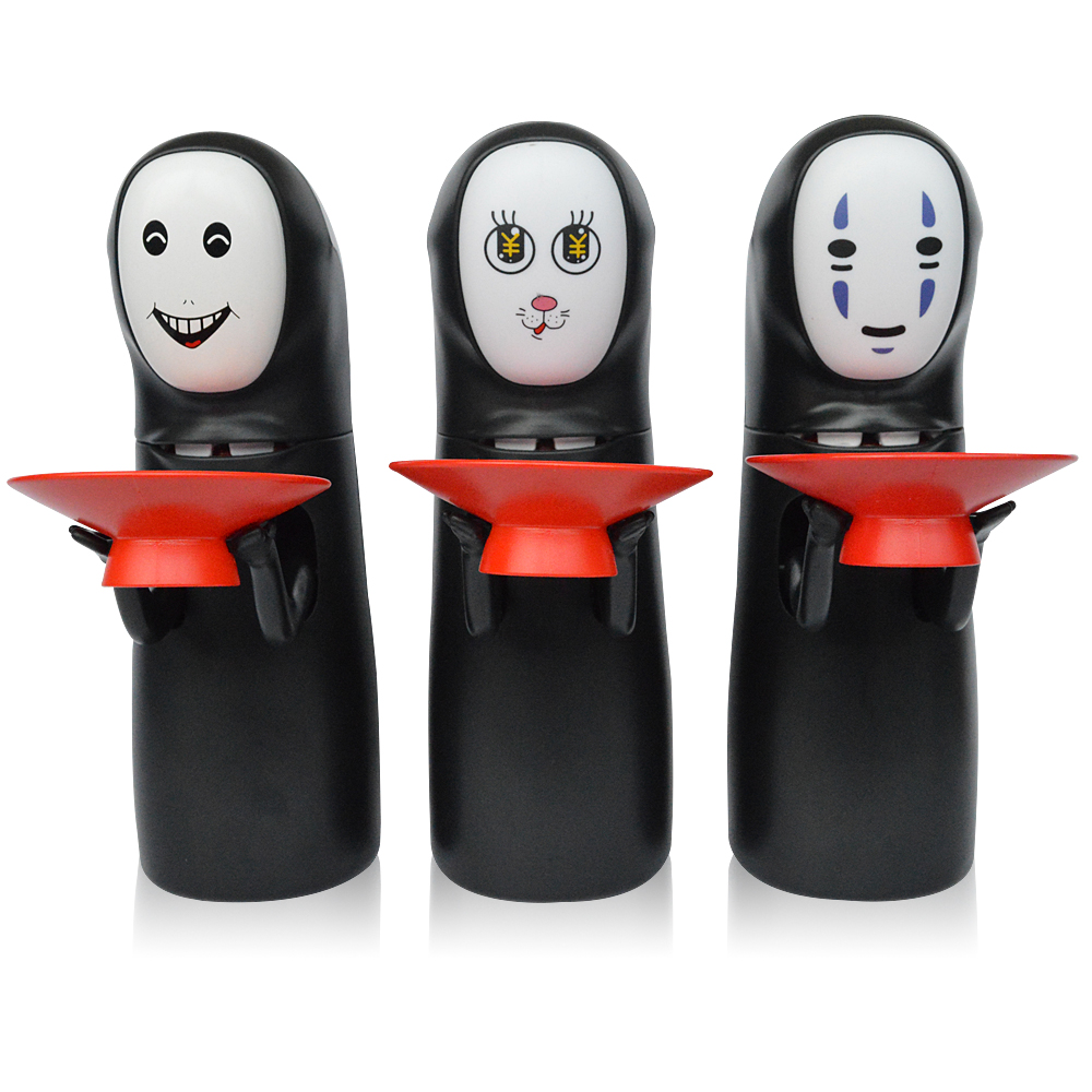 Piggy Bank No Face Male Hiccup Sound Automatic Coin Storage Kids Bank Money Saving Box Novelty Toys For Children Kids Gifts no face male piggy bank hiccup sound money coin storage container bins kids toys funny gadgets anime action figure 3 styles