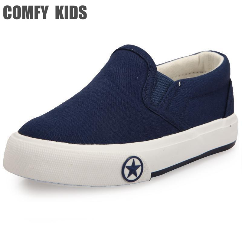 comfy child canvas shoes children fashion sneakers