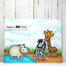 Wild Animals Clear Silicone Stamp DIY Scrapbooking Card Photo Album Making Decoration Handicraft Embossing Template