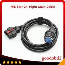 C4 cavo principale a 16pin MB star C4 SD Connect Compact 4 per cavo di prova principale Multiplexer strumenti di diagnostica per auto accessori adattatore