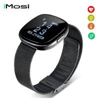 P2 Smart WristBand Bluetooth Blood Pressure Monitor Smart Band Waterproof Pedometer Fitness Tracker Smart Bracelet