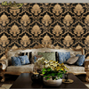 Damask Wallpaper Black And White Classic Home Decor Background Wall PVC Vinyl Wall Paper For Living