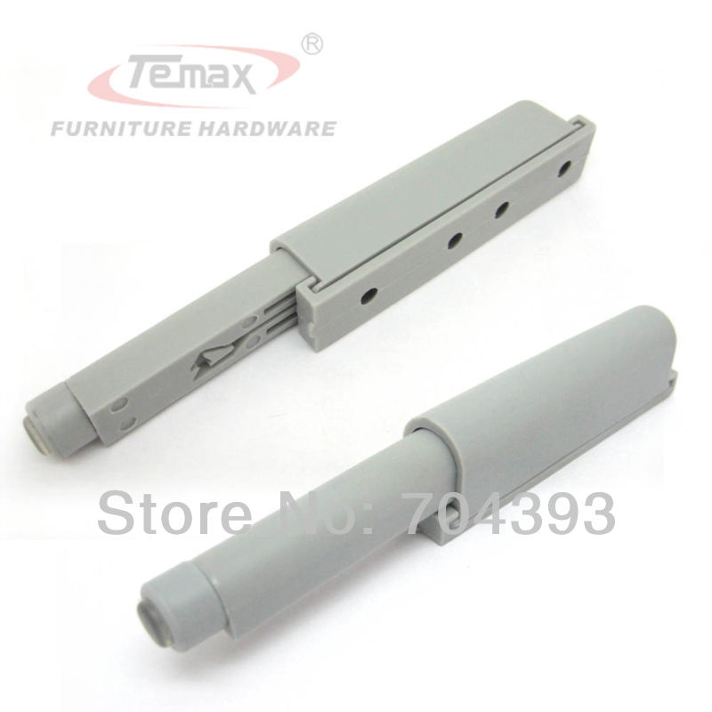 US $11 88 |10pcs Plastic Drawer Stops Grey Push to Open System Door Catch  Closer Damper Cabinet-in Cabinet Catches from Home Improvement on