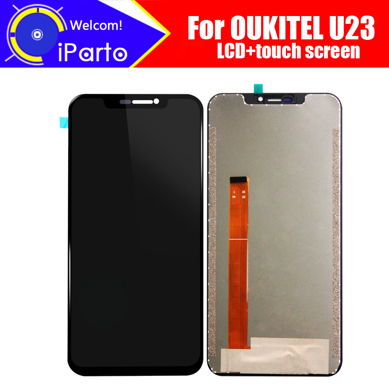 6.18 inch OUKITEL U23 LCD Display+Touch Screen Digitizer Assembly 100% Original New LCD+Touch Digitizer for U23+Tools6.18 inch OUKITEL U23 LCD Display+Touch Screen Digitizer Assembly 100% Original New LCD+Touch Digitizer for U23+Tools