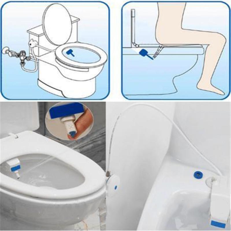 unisex bathroom smart toilet seat bidet set hygiene. Black Bedroom Furniture Sets. Home Design Ideas