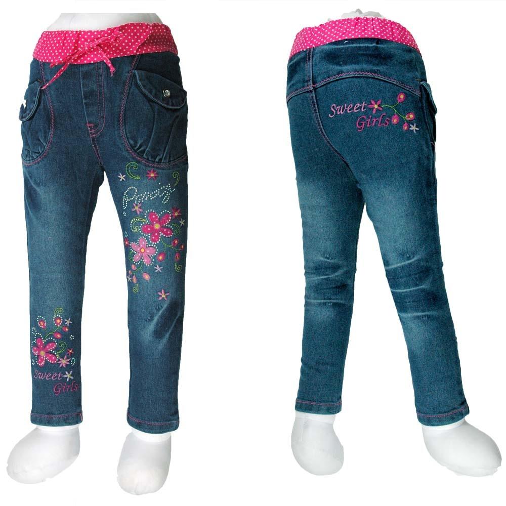 2-6Y Մանկական բարակ ջինսե պատանիներ - Մանկական հագուստ