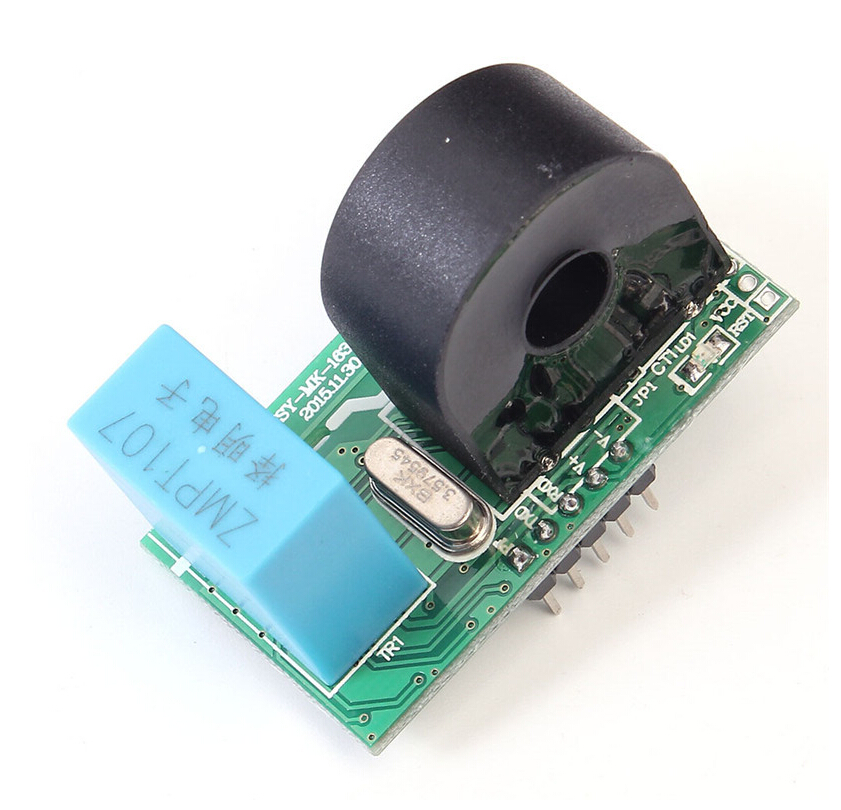 220V 50A Single-Phase AC Current Sensor Electric Parameters Detector Current Voltage Power Frequency Capacity Measuring Module