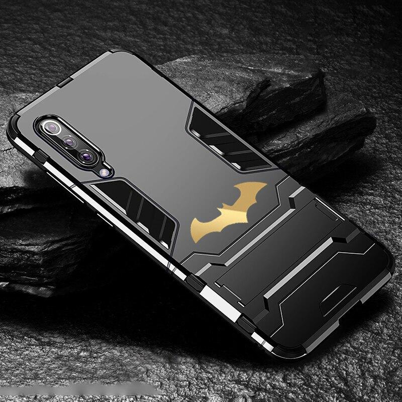 Bat Kickstand Case For Samsung Galaxy S9 S10 Plus S10e Note 9 Samsung A70 A50 A30 M30 M20 Shockproof Armor TPU + PC Tough Cover