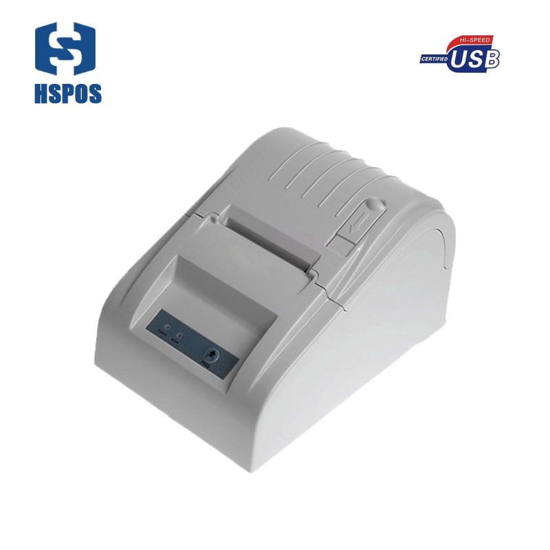 Thermal pos printer 58mm 5890T usb serial parallel lan port receipt printing machine for supermarket serial port best price 80mm desktop direct thermal printer for bill ticket receipt ocpp 802