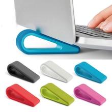 Модная Простая подставка для ноутбука, регулируемый кронштейн, креативный настольный компьютер, увеличенная полка, охлаждающая база, подставка, кронштейн для офиса