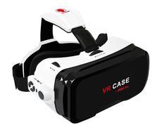 พิเศษที่ชัดเจนVRกรณี6th all-in-1ความจริงเสมือนแว่นตา3D VRกล่องVRกรณี6ที่มีบลูทูธควบคุมระยะไกลสำหรับiOS Android