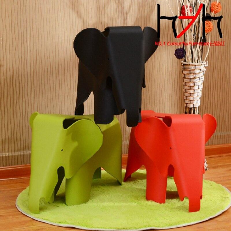 100% chaise en plastique, chaise d'éléphant, meubles pour enfants, chaise pour enfants, jouet pour enfants et siège enfants cadeaux enfants jouets de plein air