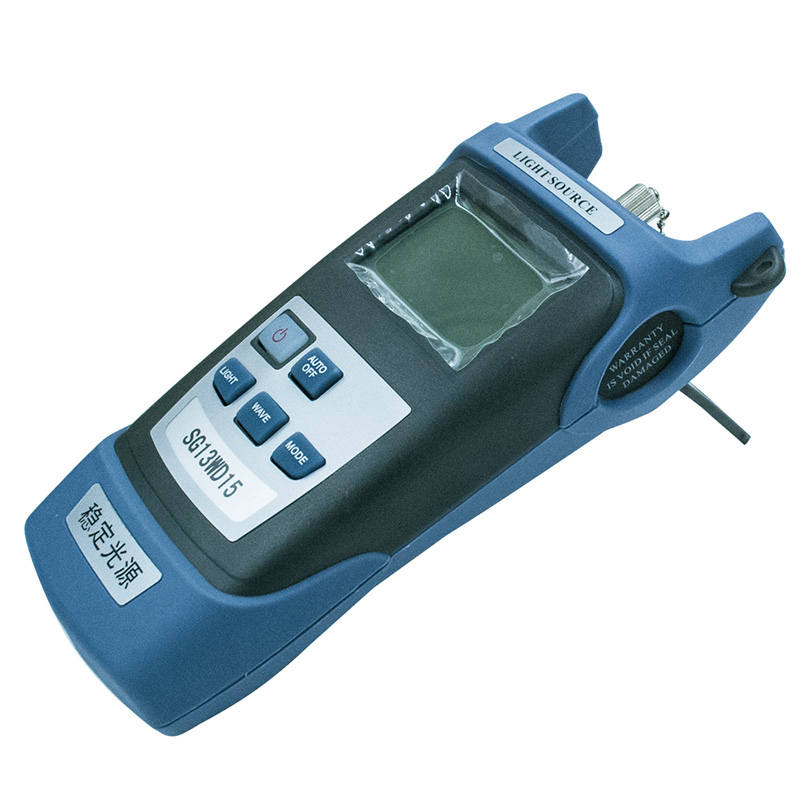 SG13WD15 Handheld Fiber Optic Laser Light Source Tester FTTH Fiber Optic Light Source Multi Wavelength 1310 1550nm