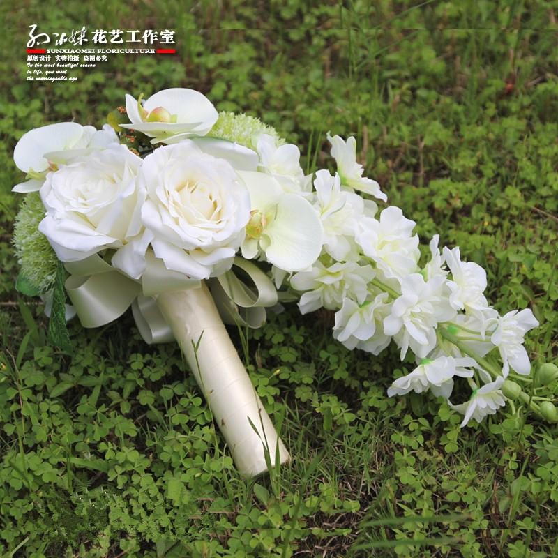 wedding flowers bridal bouquets roze 2