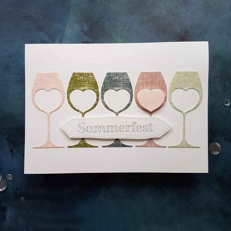 قلب كأس للنبيذ المعادن قطع يموت النقش Stencil DIY بها بنفسك بطاقة صنع ألبوم سكرابوكينغ ختم ورقة بطاقة النقش الحرفية ديكور