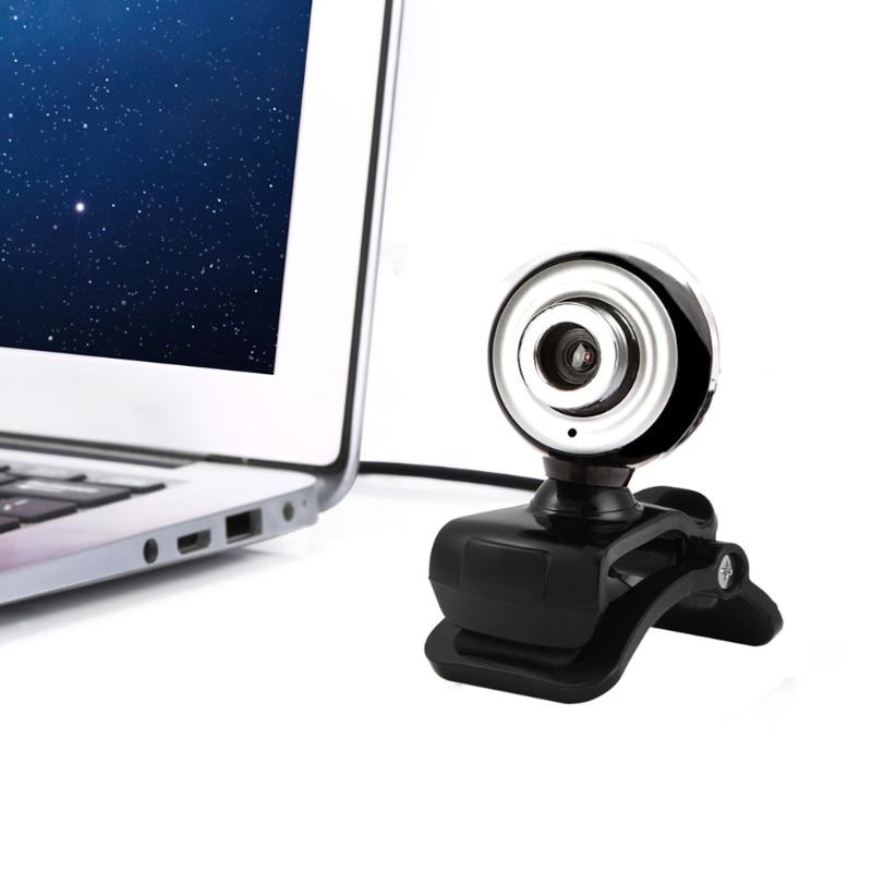 Веб-Камера 12.0 МП 3-LED USB веб-камера HD Камера со встроенным микрофоном Ночное видение для компьютера
