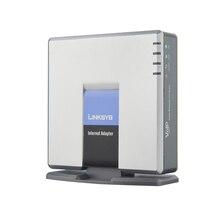 Trasporto libero veloce! SBLOCCATO LINKSYS SPA3000 VOIP FXS VoIP Phone Adapter SPA3000 FXS IP PBX voice over IP VOIP adattatore prodotto