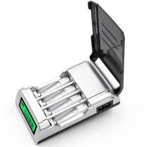 Image 4 - PALO LCD Display Intelligente Smart Batterie Ladegerät für AA / AAA Akkus 1,2 V Ni Cd Ni Mh batterie