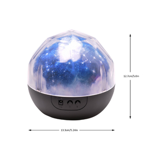 Image 5 - LED Night Light เด็กโคมไฟแบตเตอรี่ขับเคลื่อน Starry Sky Magic Star Moon Planet โปรเจคเตอร์โคมไฟ Cosmos Universe โคมไฟข้างเตียง