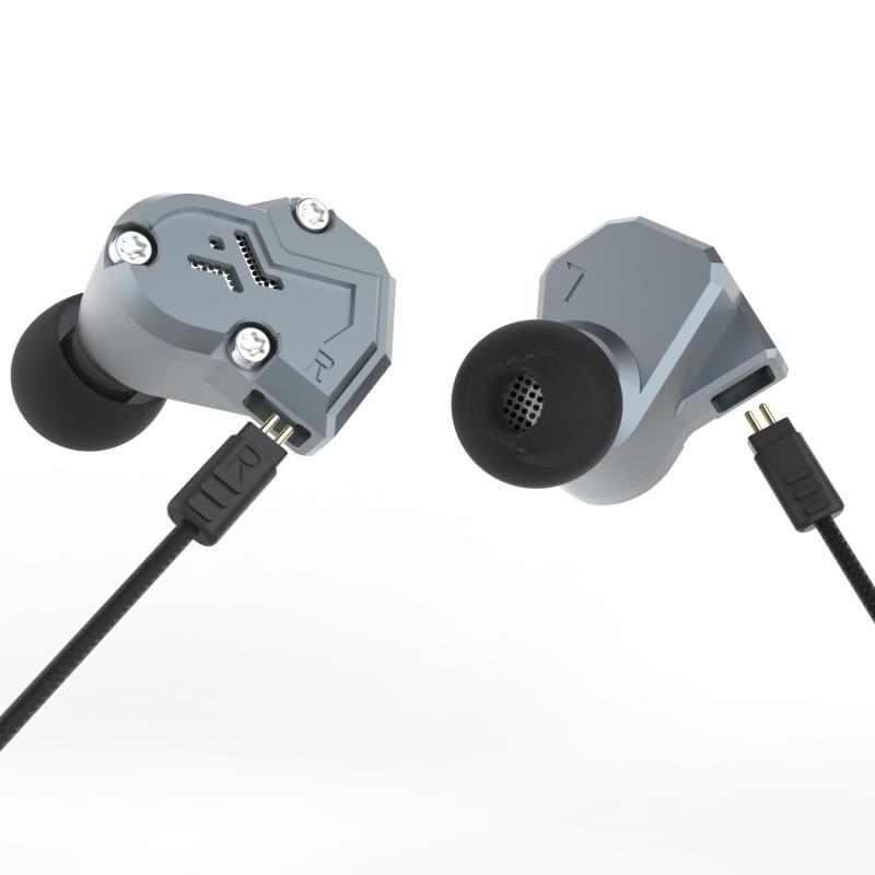 Date Revonext QT3 2DD + 2BA Dans L'écouteur D'oreille Hybride HIFI Équilibrée Casque pour la Course Sport Écouteurs Intra-auriculaires Yinyoo
