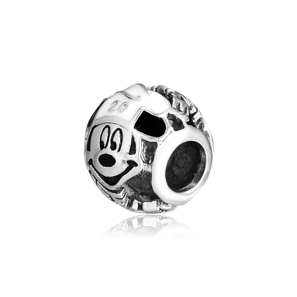Charms Fits for Bracelets Bangles Femme 925 Sterling Silver Chef Mickey Charm Original Beads for Jewelry Making FL320 in Beads from Jewelry Accessories