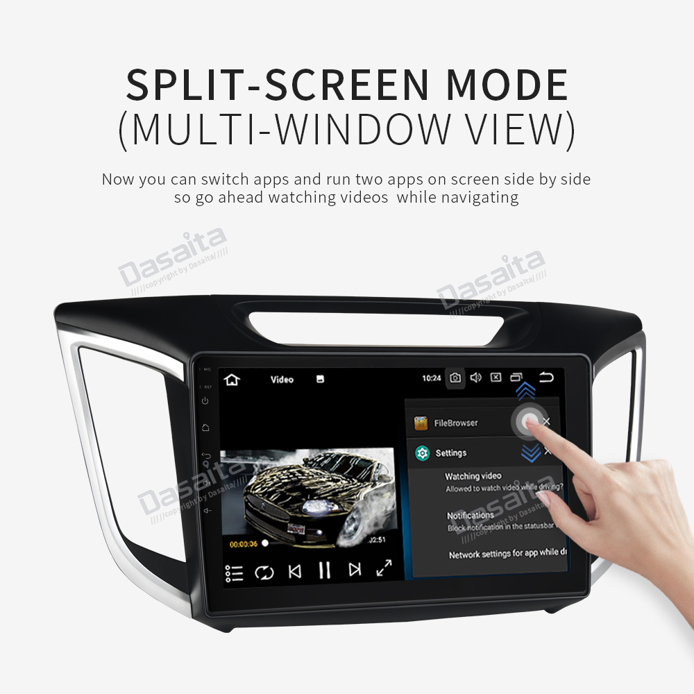 "Car Multimedia Player for Hyundai IX25 GPS 2014 2015 2016 with Android 9.0 10.2"" IPS Support Wifi Bluetooth MP3 Navi  Headunit-in Car Multimedia Player from Automobiles & Motorcycles    3"