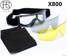 Hot Sale ! Safety Goggles USMC Airsoft X800 Sunglasses Motorcycle Eyewear Cycling Riding Eye Protection Use
