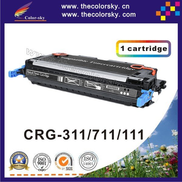 цена на (CS-H7580-7583) compatible toner cartridge for Canon CRG-311 CRG-711 CRG-111 CRG311 CRG711 CRG111 311 711 111 6k/4k free FedEx