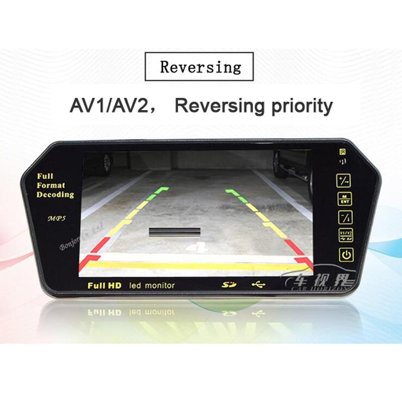 Koorinwoo Reproductor TFT LCD de 7 pulgadas Monitor colorido de - Electrónica del Automóvil - foto 5