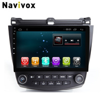 Navivox 10'' 2 din Android 6.0 Car GPS Navigation Stereo Audio Player For Accord 07 RAM2G+ROM32G Car Radio GPS Navigation