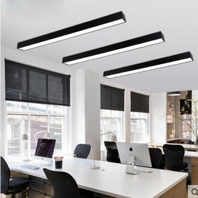 office ceiling lamps. LED Office Ceiling Lamp Modern Minimalist Rectangular Balcony Aisle Corridor Long Lamps OFFICE Lighting I