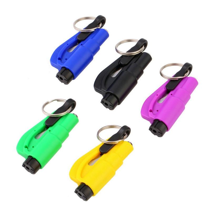 Открытый гаджеты 3 в 1 аварийного мини молоток безопасности авто окна автомобиля Стекло выключатель ремня безопасности автомобиля молоток ... ...