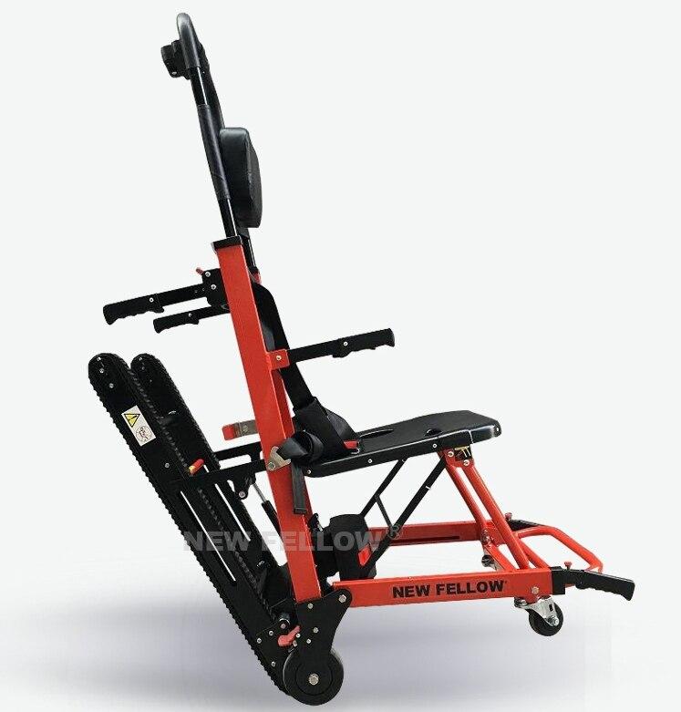 Гусеничный тип Электрический лестница восхождения коляске лестницы восхождение автомобиль подняться строительные машины колебания здани