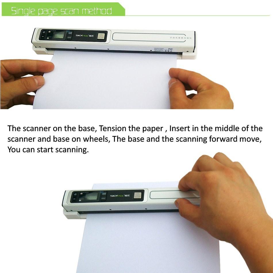 senniao portable scanner base Z01 (8)