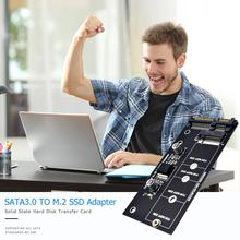 M.2 NGFF SSD адаптер SATA 3,0 22 Pin для ключа B-M NGFF адаптер расширения Поддержка всех SATA стандартов M2.SSD