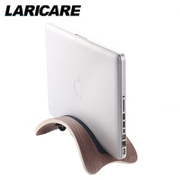 LARICARE L 01 Natural Wood Laptop Stand Holder Support For Notebook Laptop MacBook Air Pro