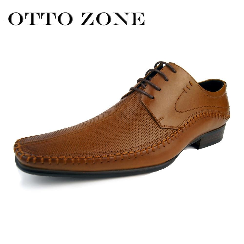 Italian Designer Oxford Vintage Dress Shoes Brand Genuine