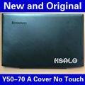 Новый Оригинальный Lenovo Y50 Y50-70 Жк Задняя Крышка Вернуться Верхняя Крышка + No Touch 15.6 AM14R000400