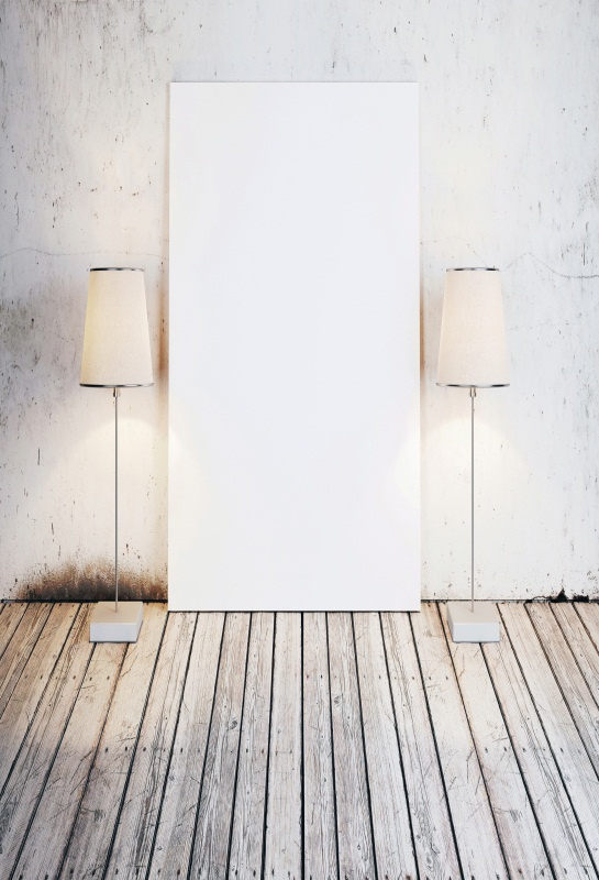 Laeacco Old White Wall Lamp Wooden Flooring Chilren Photography Backgrounds Customized Photography Backdrops For Photo Studio