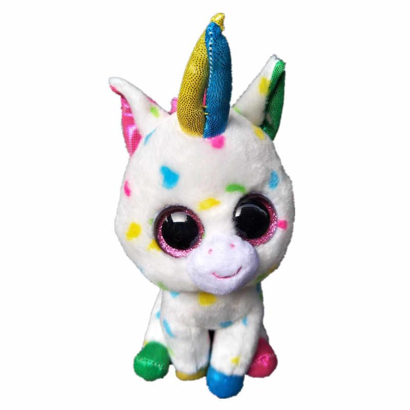 36e8e91d2e3 ... Ty Beanie Boo Unicorns Magic Wishful Pegasus Harmonie Pixy   Fantasia  Big Eyes Plush Stuffed Animals