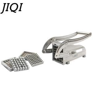 JIQI Slicer Cutting-Machine Potatoes-Chips French Cutter Chopper Strip Blade Fry Fries