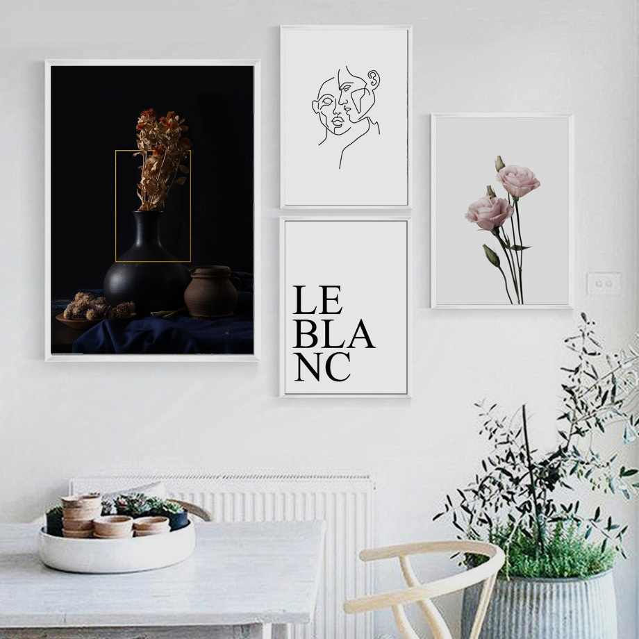 Flower Wall Art Posters And Prints Pink