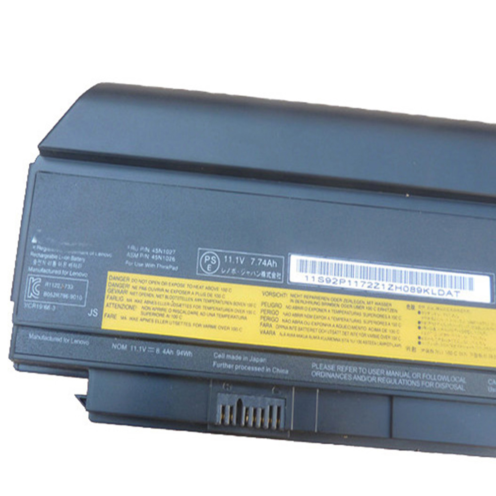 11 1v 94wh 9cell X230 Original New Laptop Battery for Lenovo Thinkpad X220I  X220 X230I 0A36307 42T4940 0A36281 45N1022 45N1023