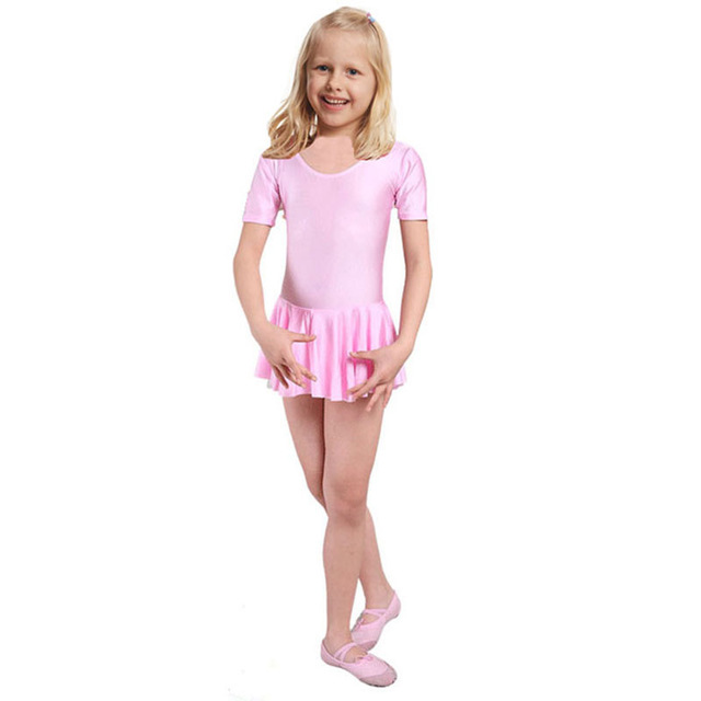 School Class Girls Ballet Dress For Children Girl Dance Clothing Kids Ballet Costumes -1076