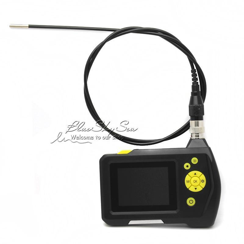 Blueskysea Endoscope Caméra Dia 3.9mm 2.7 LCD NTS100 Endoscope Endoscope D'inspection de Serpent Tube Caméra DVR