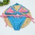 Девушки бикини детские купальники дети девушки купальники бикини установить купальники купальник дешевые китая одежда для SW031