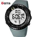 OTS Brand Fashion Watch Men Waterproof Sport Military Watches Men's Luxury S-Shock LED Quartz Digital Watch Relogio Masculino