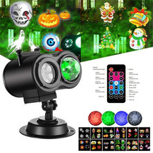 цены Garden Lawn Lamp Light 220V 110V Laser Projector Light Waterproof 12 Patterns Mini Lights Outdoor Christmas Xmas Holiday Lights
